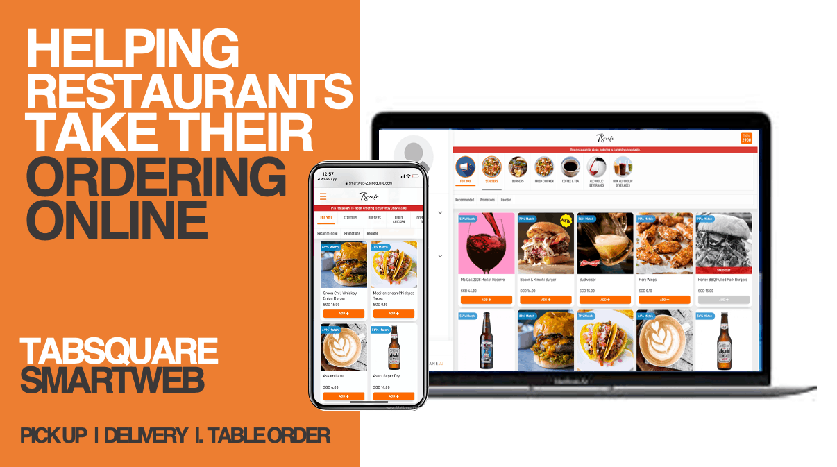 Smartweb online ordering pos restaurant takeaway delivery