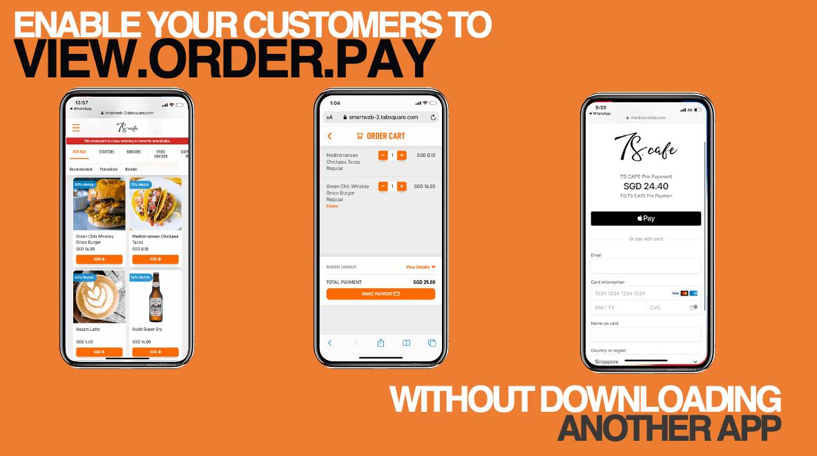 smartweb restaurant online ordering takeaway
